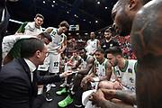 maffezzoli ,  time out<br /> Legabasket Campionato Italiano  <br /> Serie A 2018/19<br /> Play off<br /> Quarti di Finale - Gara 5 <br /> A|X Armani Exchange Milano -Sidigas Avellino 92-76 <br /> Milano Mediolanum Forum<br /> 26/05/2019 Ore 20:30<br /> Foto GiulioCiamillo/Ciamillo