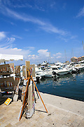Saint-Tropez, France. Yacht club and Marina