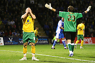 Gillingham - Tuesday October 6th, 2009:  Norwich's Jamie Cureton goes close during the Johnstones Paint Trophy R2S match at the KRBS Priestfield, Gillingham, Kent. (Pic by Paul Chesterton/Focus Images)