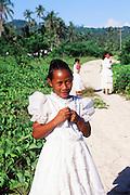 Children, Upolu, Western Samoa