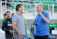 August 13, 2016: OKC Energy FC plays LA Galaxy II in a USL game at Taft Stadium in Oklahoma City, Oklahoma.