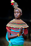 Woman from the Samburu Tribe, Kenya.