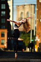 Dance As Art Photography Project Brooklyn Bridge Dumbo Series with Jocelyn Farabaugh