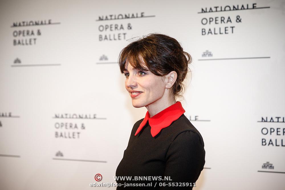 NLD//Amsterdam20160415 - Première 'Roméo et Juliette', Daphne Bunskoek