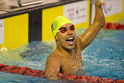 DIAS Daniel BRA at 2015 IPC Swimming World Championships -  Mixed 4x50m Freestyle Relay 20pts