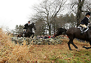 Ipswich, MA 112609  Riders take part in November 26, 2009 in Myopia Hunt Club's end of season  annual Thanksgiving day hunt.