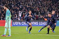 11 ANGEL DI MARIA (psg) - 06 MARCO VERRATTI (psg) - JOIE - 10 LIONEL MESSI (bar) - DECEPTION<br /> FOOTBALL :  Paris SG vs Barcelona - Champions League - 02/14/2017<br /> <br /> Norway only