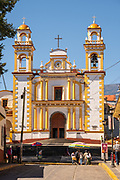 Parroquia Santa María Magdalena church in Xico, Veracruz, Mexico.