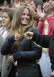 Kim Sears girlfriend of Andy Murray at the French Open, in Paris , 4th June 2012 , Photo by: Imago / i-Images