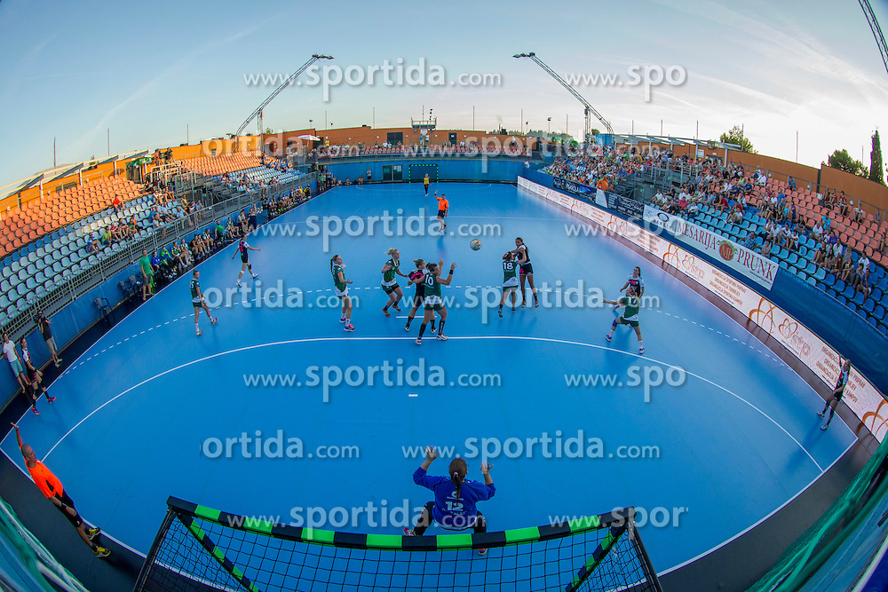 SRC Marina Portoroz during handball match between RK Krim Mercator vs ZRK Zelene Doline Zalec of Super Cup 2015, on August 29, 2015 in SRC Marina, Portoroz / Portorose, Slovenia. Photo by Urban Urbanc / Sportida