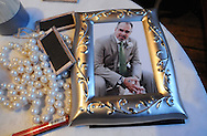 Framed print of groom Steve Mona during his wedding reception at the Metropolitan Building in Long Island City, NY on Saturday, November 16, 2013.  © Chet Gordon • Photographer