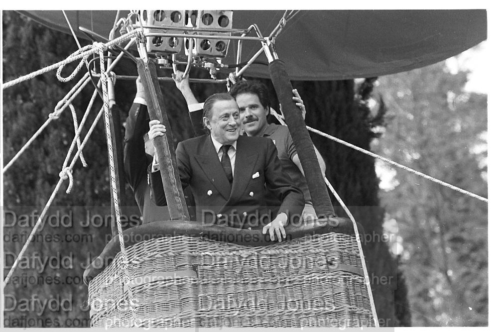 Baron Thyssen-Bornemisza. Party to launch Faberge exhibition at Baron Thyssen's Villa Favorita, Lugano. 20 April 1987. © Copyright Photograph by Dafydd Jones 66 Stockwell Park Rd. London SW9 0DA Tel 020 7733 0108 www.dafjones.com