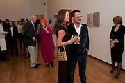 SHEBAH RONAY; JONATHAN YEO, Royal Academy Schools Annual dinner and Auction 2012. Royal Academy. Burlington Gdns. London. 20 March 2012.