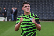 Forest Green Rovers Matty Stevens(9) during the EFL Sky Bet League 2 match between Forest Green Rovers and Crawley Town at the New Lawn, Forest Green, United Kingdom on 5 October 2019.