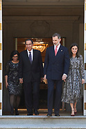 022719 Spanish Royals attend a lunch with President of Peru and wife