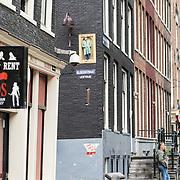 NLD/Amsterdam/20170818 - Cameratoezicht op de Wallen,