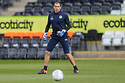 Forest Green Rovers goalkeeper coach Pat Mountain during the EFL Sky Bet League 2 match between Forest Green Rovers and Macclesfield Town at the New Lawn, Forest Green, United Kingdom on 13 April 2019.