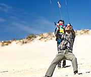 The Albatross and the Kite Guys at Fire Island, Easter Sunday, April 8, 2012