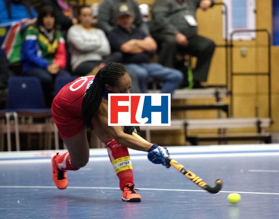 BERLIN - Indoor Hockey World Cup<br /> Namibia - Ukraine<br /> foto: Magreth Mengo <br /> WORLDSPORTPICS COPYRIGHT FRANK UIJLENBROEK