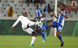 Cape Town-180519 Free State Stars Goodman Mazibuko challenged by  Bandile Shandu of Maritzburg United in the Nedbank Cup final at Cape Town stadium .photograph:Phando Jikelo/African News Agency/ANA
