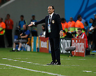 Cesare Prandelli of Italy during the 2014 FIFA World Cup match at Arena da Amazonia, Manaus<br /> Picture by Andrew Tobin/Focus Images Ltd +44 7710 761829<br /> 14/06/2014