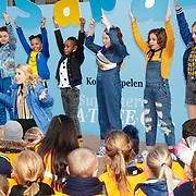 NLD/Voorburg/20190123 - POfficiële start inschrijving Koningsspelen 2019, Dansende kinderen