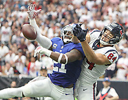 NFL 2018 Texans vs Giants Sep 23