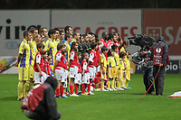 20111103 Braga: SC Braga vs. NK Maribor, UEFA Europa League, Group H, 4th round. In picture: teams line-up. Photo: Pedro Benavente/Cityfiles