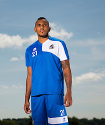 Bristol Rovers New signing, Cristian Montano  - Photo mandatory by-line: Joe Meredith/JMP - Mobile: 07966 386802 - 03/07/2015 - SPORT - Football - Bristol - The Lawns Training Ground - Bristol Rovers Pre Season Training
