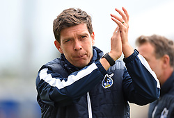 Bristol Rovers manager Darrell Clarke - Mandatory by-line: Paul Knight/JMP - 28/04/2018 - FOOTBALL - Memorial Stadium - Bristol, England - Bristol Rovers v Gillingham - Sky Bet League One