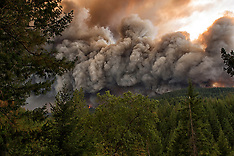 Valley Fire, Lake County, California