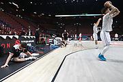 Team Brose Bamberg pregame, AX ARMANI EXCHANGE OLIMPIA MILANO vs BROSE BAMBERG, 6 giornata EuroLeague 2017/2018, Mediolanum Forum, Milano 17 novembre 2017 - FOTO Bertani/Ciamillo-Castoria