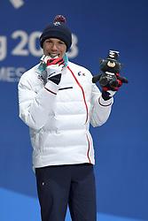 BAUCHET_Arthur, Para Alpine Skiing, ParaSkiAlpin, Super Combined, Podium at  the PyeongChang2018 Winter Paralympic Games, South Korea.