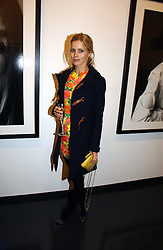 LAURA BAILEY at a private view of an exhibition of portrait photographs by Danish photographer Marc Hom held at the Hamiltons Gallery, 13 Carlos Place, London on 23rd October 2006.<br /><br />NON EXCLUSIVE - WORLD RIGHTS