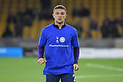 Kieran Trippier defender of Tottenham Hotspur (2) wearing Together With Leicester t-shirt during the Premier League match between Wolverhampton Wanderers and Tottenham Hotspur at Molineux, Wolverhampton, England on 3 November 2018.