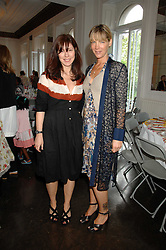 Left to right, CAMILLA GUINNESS and CYNTHIA CONRAN at a lunch in aid of African Solutions To African Problems held at Il Bottaccio, 9 Grosvenor Place, London on 20th May 2008.<br /><br />NON EXCLUSIVE - WORLD RIGHTS