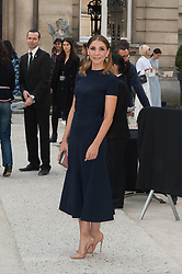 Clotilde Courau attending the Valentino's Spring-Summer 2016/2017 Ready-To-Wear collection show held at the Salomon de Rothschild Hotel in Paris, France, on October 2, 2016. Photo by Nicolas Genin/ABACAPRESS.COM