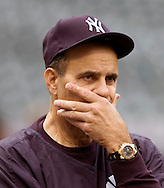 New York Yankees manager Joe Torre during the American League Division Series in Cleveland, 2007.