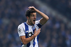 December 6, 2017 - Porto, Porto, Portugal - Porto's Spanish defender Ivan Marcano reacts after the referee score a penalty during the UEFA Champions League Group G match between FC Porto and AS Monaco FC at Dragao Stadium on December 6, 2017 in Porto, Portugal. (Credit Image: © Dpi/NurPhoto via ZUMA Press)