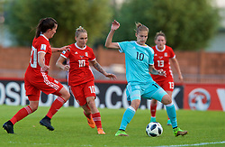 NEWPORT, WALES - Tuesday, June 12, 2018: Russia's Nadezhda Smirnova during the FIFA Women's World Cup 2019 Qualifying Round Group 1 match between Wales and Russia at Newport Stadium. (Pic by David Rawcliffe/Propaganda)
