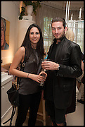 FOSCA MARIANI; JOEL DONOVAN, Nicky Haslam hosts a party to launch a book by  Maureen Footer 'George Stacey and the Creation of American Chic' . With a foreword by Mario Buatta. Kensington. London. 11 June 2014