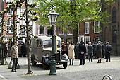 Filmset voor de film Lyrebird in Leiden