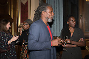 LORNA ANDERSON; HURVIN ANDERSON; BARBARA WALKERTenTen. The Government Art Collection/Outset Annual Award. Champagne reception to announce the inaugural artist Hurvin Anderson and unveil his 2018 print. Locarno Suite, Foreign and Commonwealth Office. SW1. 2 October 2018