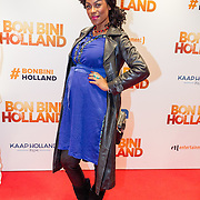 NLD/Amsterdam/20151207- Filmpremiere Bon Bini Holland, zwangere Giovanca Ostiana