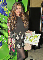 LONDON - November 14: Jessica Wright at Children in Need POP goes the Musical: Shrek The Musical (Photo by Brett D. Cove)