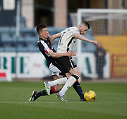 Dundee&rsquo;s Cammy Kerr tackles Inverness&rsquo; Liam Polworth - Dundee v Inverness Caledonian Thistle in the Ladbrokes Scottish Premiership at Dens Park, Dundee, Photo: David Young<br /> <br />  - &copy; David Young - www.davidyoungphoto.co.uk - email: davidyoungphoto@gmail.com