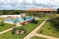 Football Fifa Brazil 2014 World Cup / <br /> Guest House and Training Center of Switzerland ( Porto Seguro - Muta Beach / Bahia , Brazil ) -<br /> La Torre Resort - Porto Seguro - Muta Beach , The exclusive and reserved Area for the Swiss Delegation, <br /> located in the inside of large tourist complex , In the images the large pool and the buildings where will host players