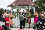Nancy and Lucy celebrate their wedding with family and friends at Wedgewood Wedding & Banquet Center at Rancho Cañada Golf Club in Carmel, California, on August 22, 2015. (Stan Olszewski/SOSKIphoto)