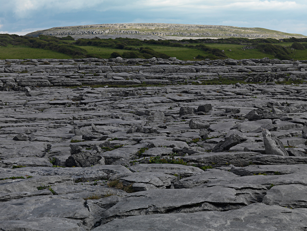 Ireland Burren region karst landscape Burren national park, near Black Point