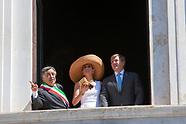 I reali d'Olanda in visita a Palermo